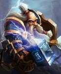 The Dwarf Warrior