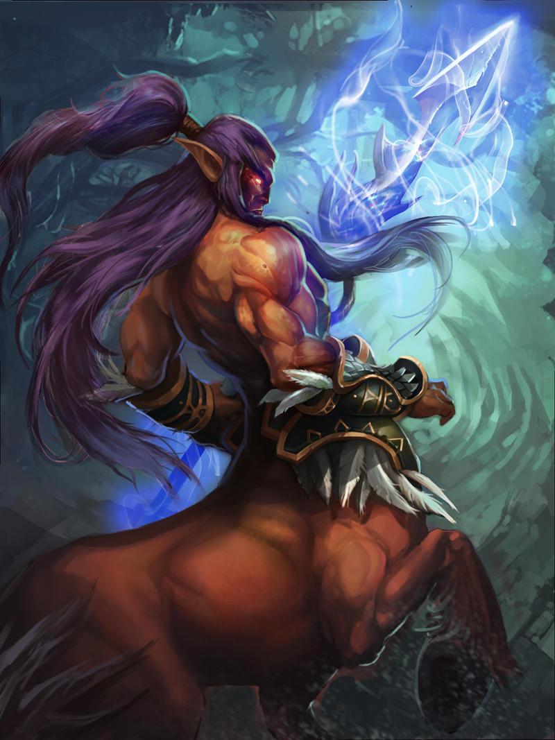 Centaur Captain by robekka