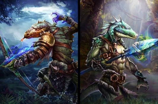 Lizard Warriors