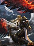 Fallen Angel Lucifer by robekka