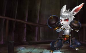 Albert the Bunny Boxer by robekka