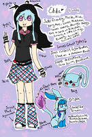 Ebba Reference sheet of awesomeness by DrizzleDaydream