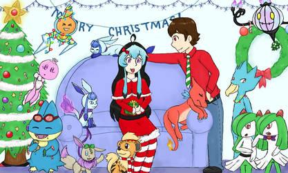 Pokemon Christmas Party by DrizzleDaydream