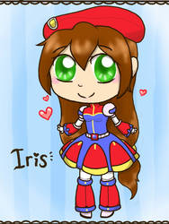 Chibi Iris by DrizzleDaydream