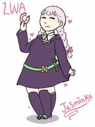 Little Witch Jasminka by DrizzleDaydream