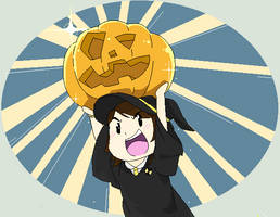 Hufflepuff Halloween by DrizzleDaydream