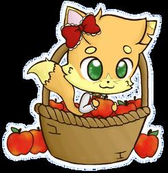 Tisket-a-Tasket Baker in a Basket by DrizzleDaydream