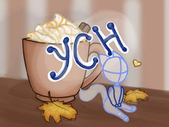 Autumn Drink YCH by DrizzleDaydream
