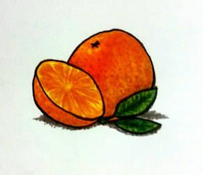 Orange you glad I drew this? (practice)