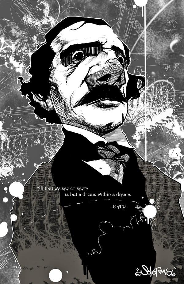 Edgar Allen Poe... by SOLO-RM