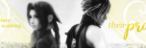 Their Promised Land Cloud x Aerith by Stray-Arrows