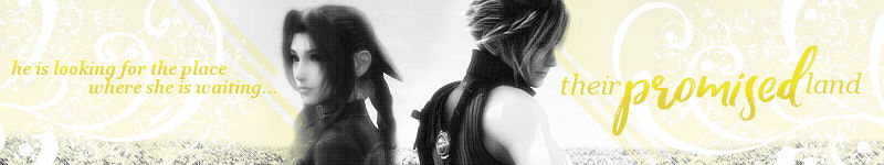 Their Promised Land Cloud x Aerith