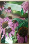 Cone Flowers_Acrylic