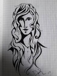Old Sketch 1 by AzarielShax