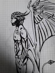 Old Sketch 2 by AzarielShax