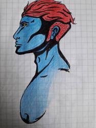 Old Sketch 3 by AzarielShax