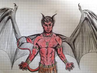 Old Sketch 4 by AzarielShax