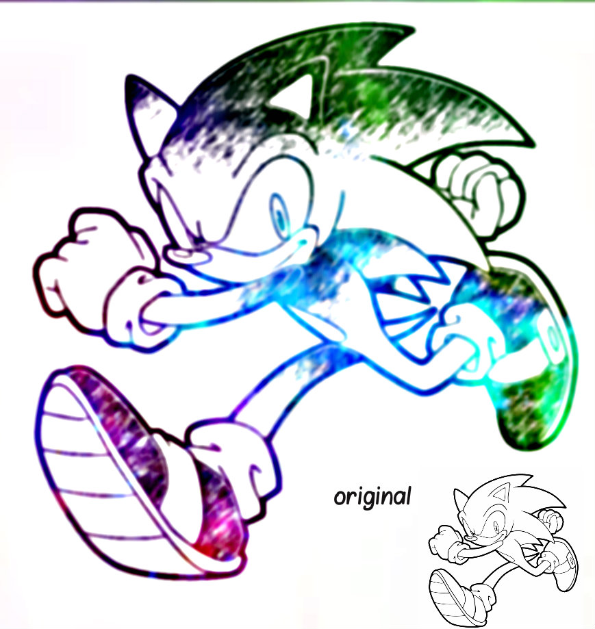 sonic the hedgehog color pages virtren com