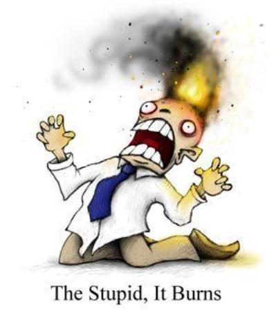 stupidity? me by x-gabrizella