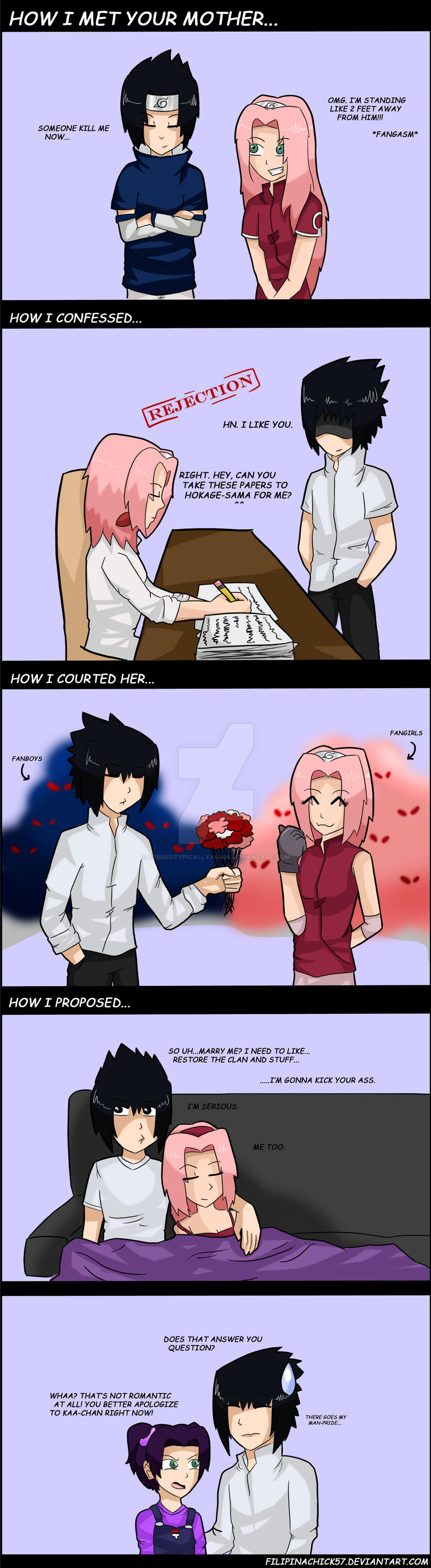 sasusaku funny comic by naruto1213 on DeviantArt