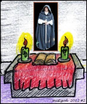 Altar to mistgod