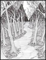 Scary Forest by Mistgod
