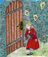 Girl with a Key by Mistgod