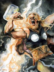 The Mighty Thor,God of Thunder