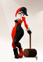 Harley Quinn by EmegE