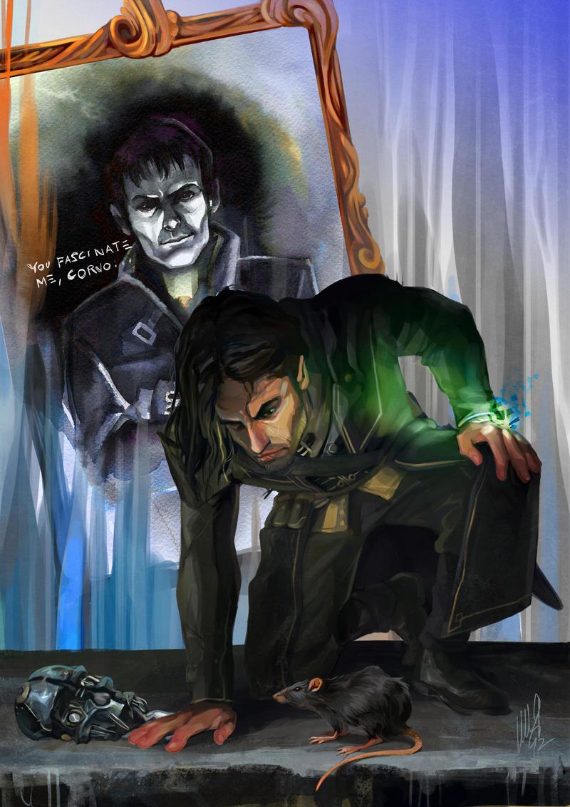 Dishonored - Corvo Attano by EmegE