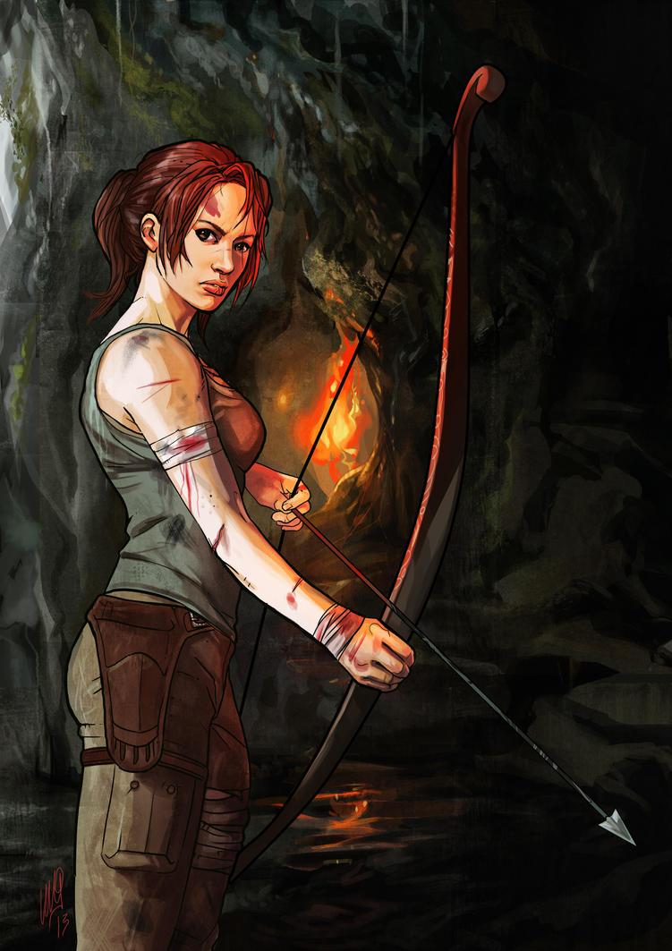 Lara Croft - Tomb Raider Reborn by EmegE