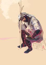 Concept Art: beduin by EmegE