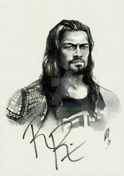 Roman Reigns (signed by him)