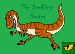 Classic raptor by TheMightySaurus