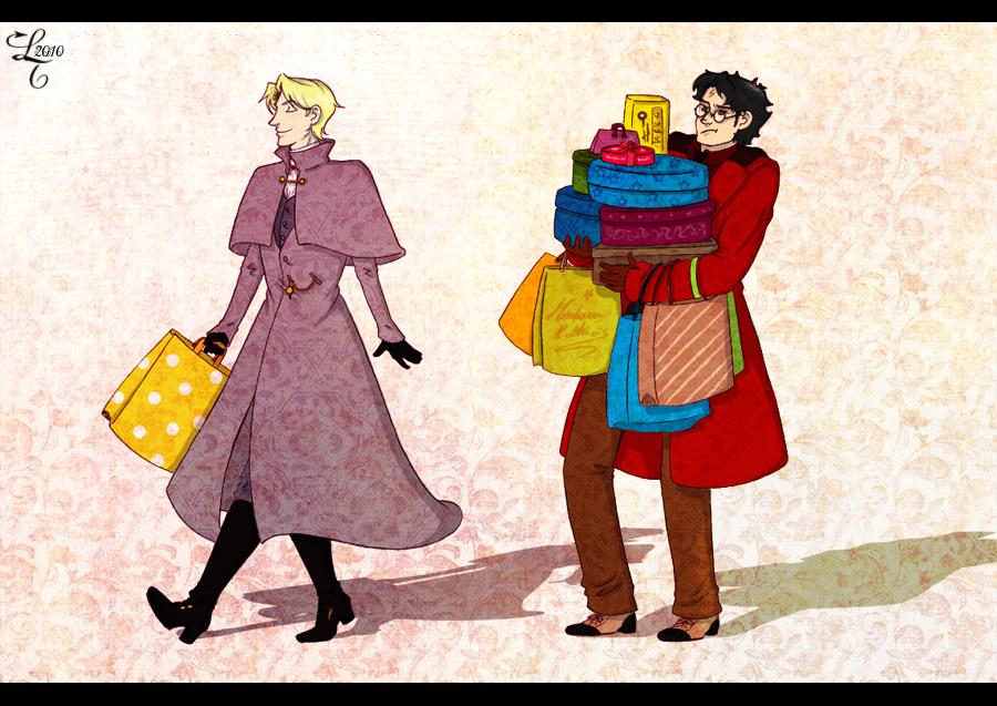 HP - Shopping by Dracontessa
