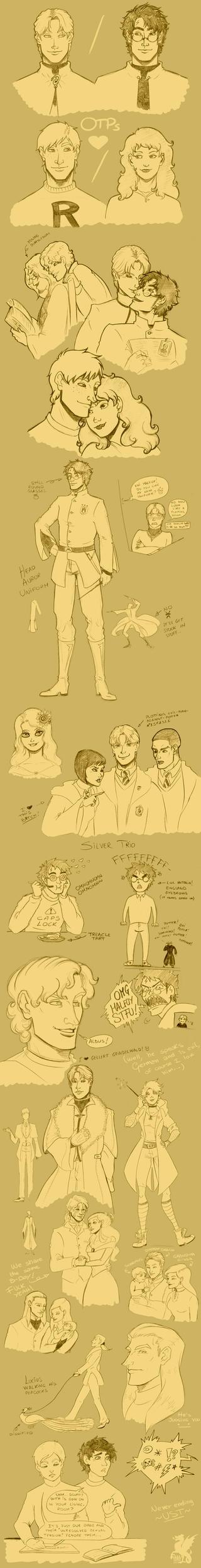 HP - Potternesssss by Dracontessa