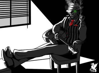 SPG - Steam and smoke by Dracontessa