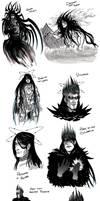 Morgoth Bauglir by Dracontessa