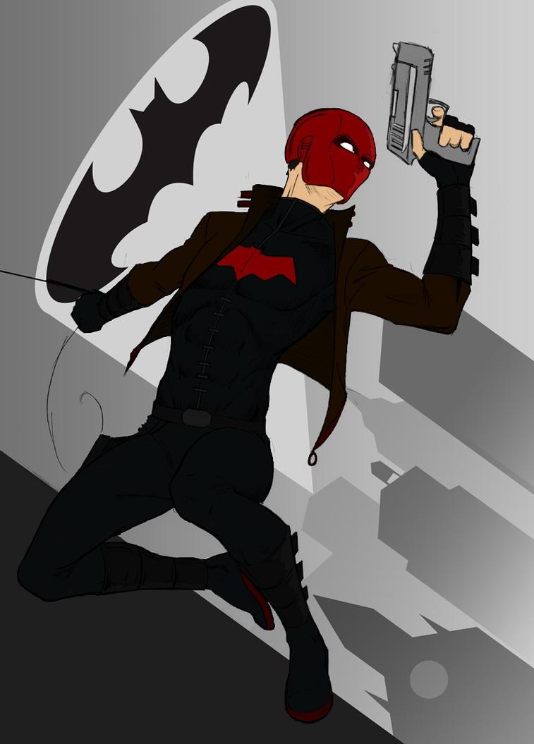 Jason Todd: Red Hood Colored by TenguKarasu