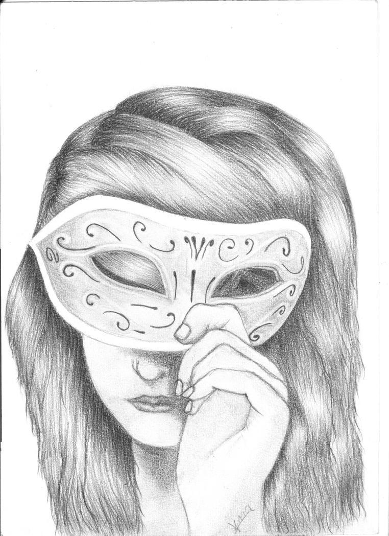 Masquerade Girl By AnaSats