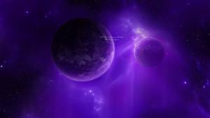 Tertiary: Violet Wallpaper