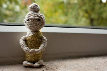 Voodoo Meditating Buddha by hasuhime