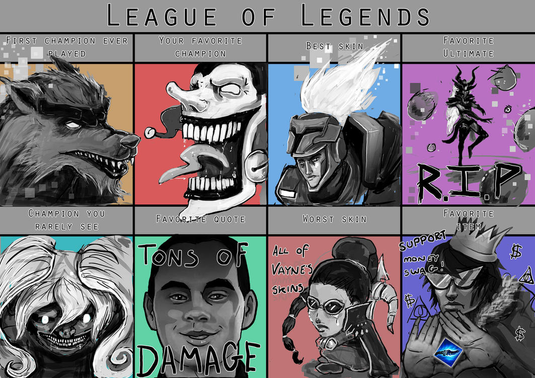 Funny Meme League Of Legends : Updated league of legends meme by stripe on deviantart
