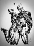 Batman and Cat woman