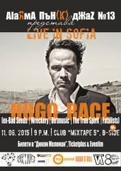 Hugo Race in Bulgaria (poster) by cherneff
