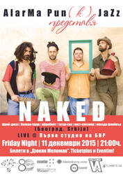 Naked (Beograd, Serbia) in Bulgaria (poster) by cherneff