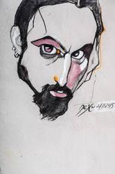 Self portrait(21.11.2015) by cherneff