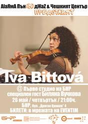 Iva Bittova in Sofia, Bulgaria (flyer) by cherneff