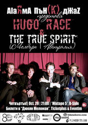 Hugo Race and The True Spirit in Sofia, Bulgaria by cherneff