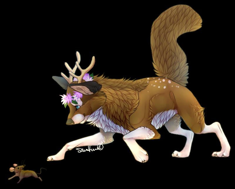 Cute Fox by santineline